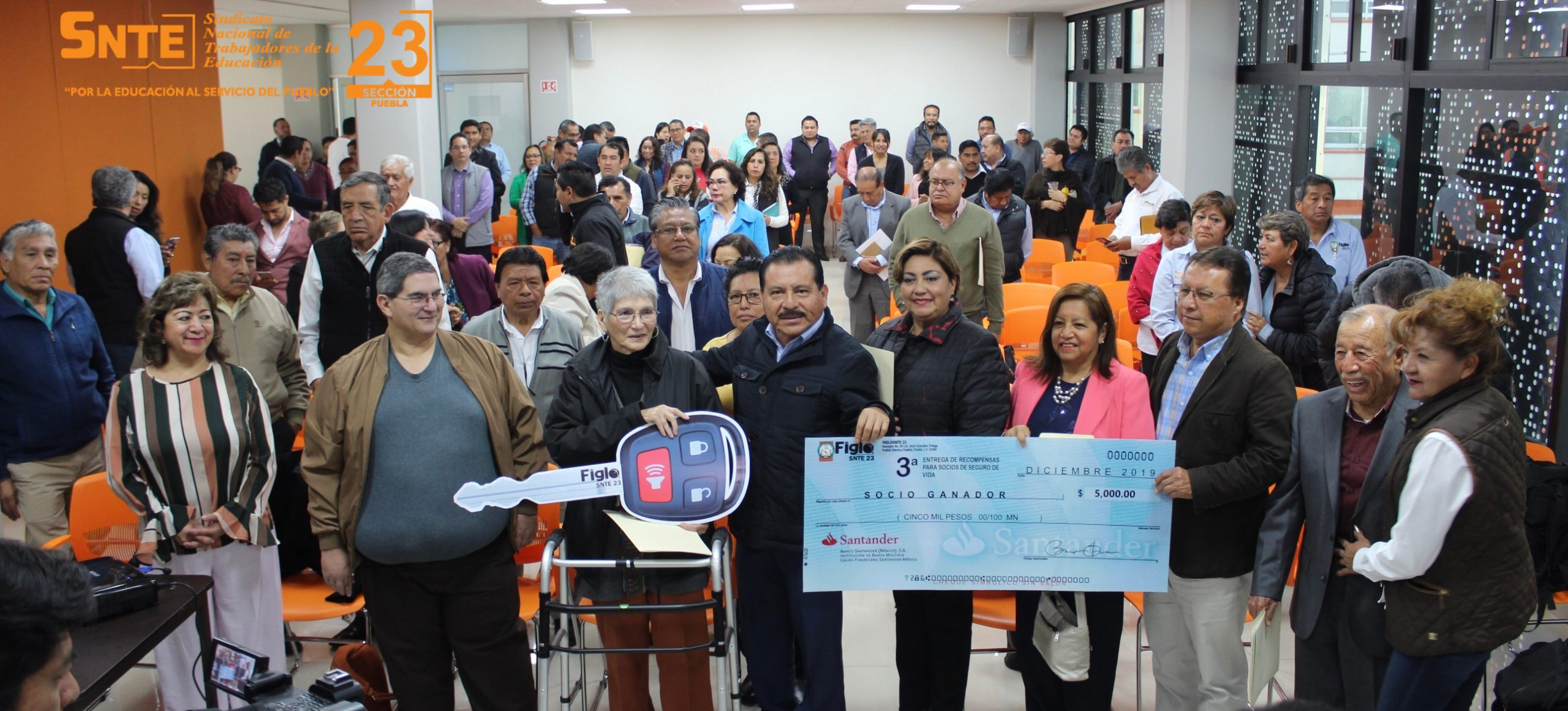 Tercera entrega de recompensas para socios del seguro de FigloSNTE 23