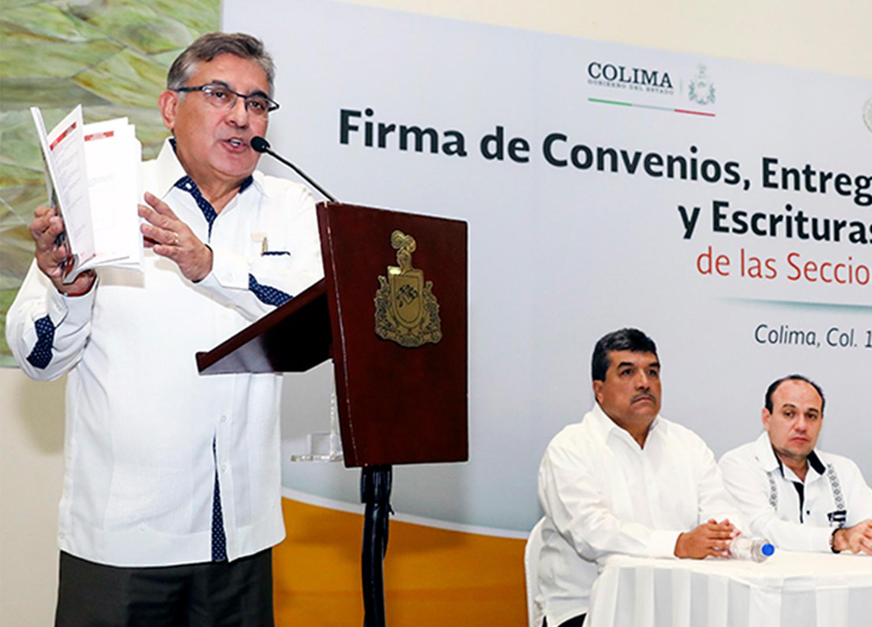 ¡Certeza laboral en Colima!