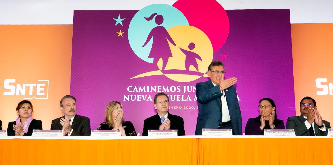 Define el SNTE su propuesta educativa para la Nueva Escuela Mexicana