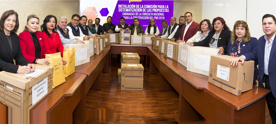 En marcha sistematización de resultados de la consulta a trabajadores de la educación