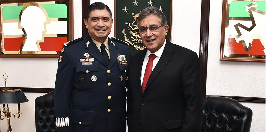 SNTE y Sedena comparten agenda por México