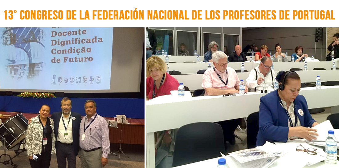 Manifiesta el SNTE en foros internacionales su defensa a los derechos humanos y laborales
