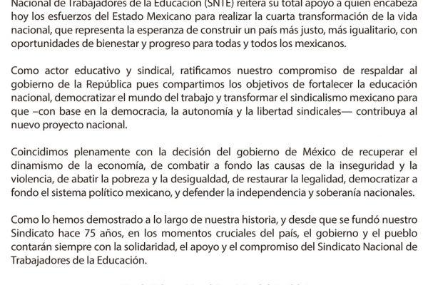 EL UNIVERSAL AMLO Página 01072019