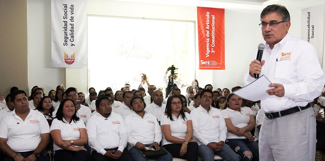Inicia segunda consulta nacional del SNTE