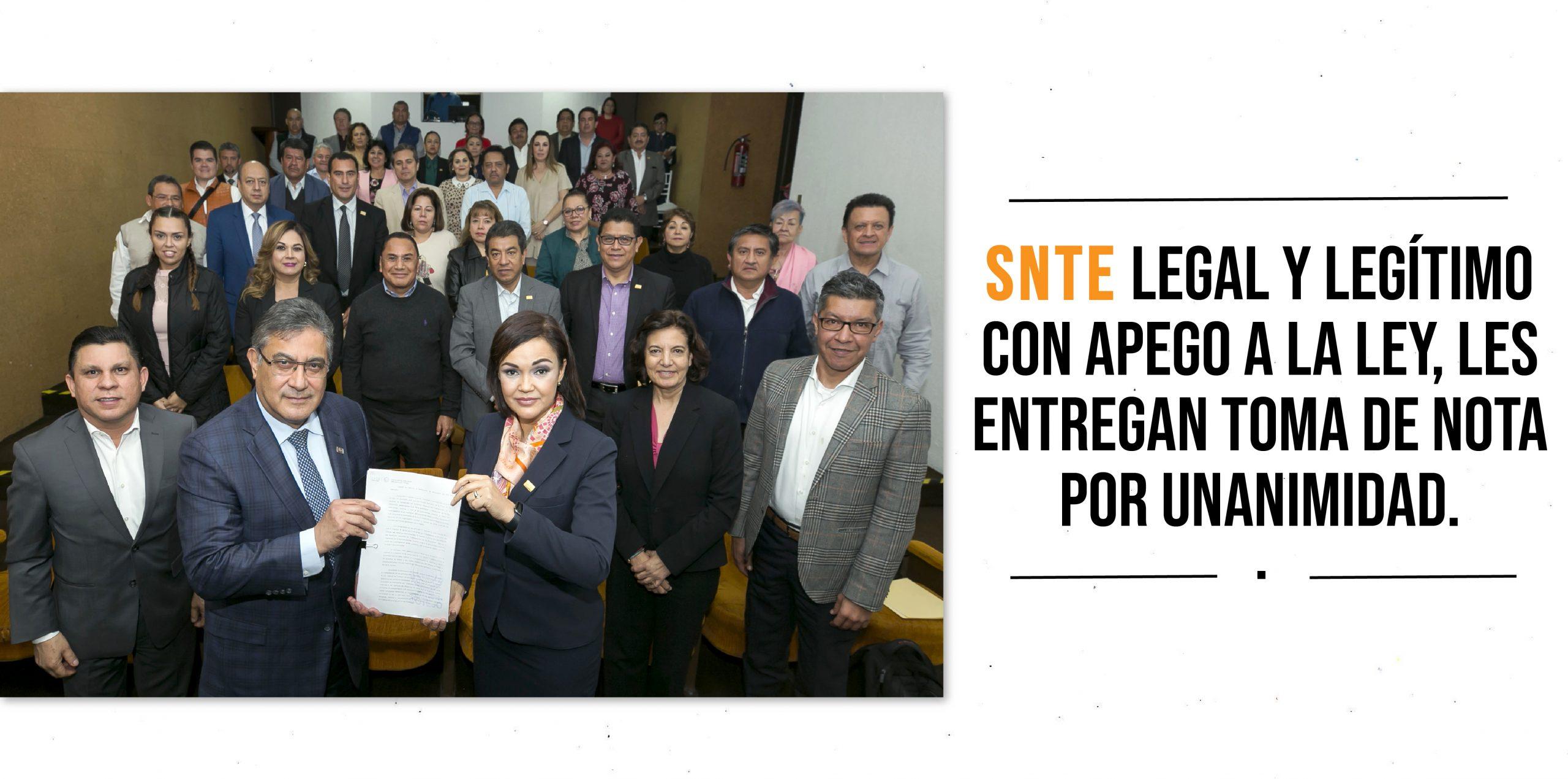 El TFCA valida acuerdos del SNTE