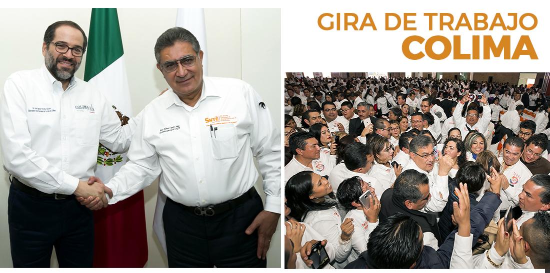 Se congratula Cepeda Salas por los exitosos resultados en Congresos Seccionales del SNTE