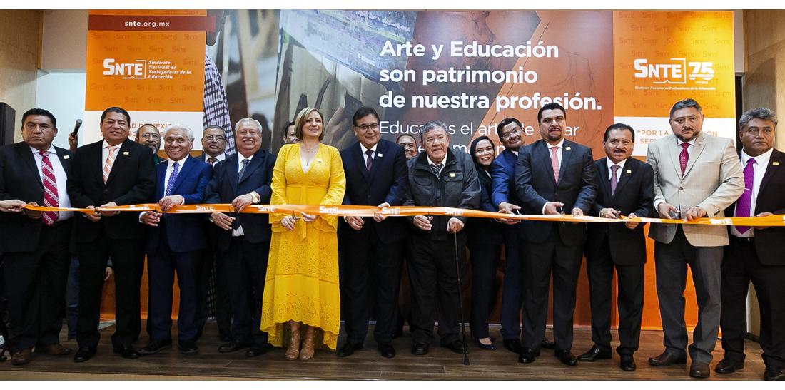 El SNTE revive muralismo de Diego Rivera