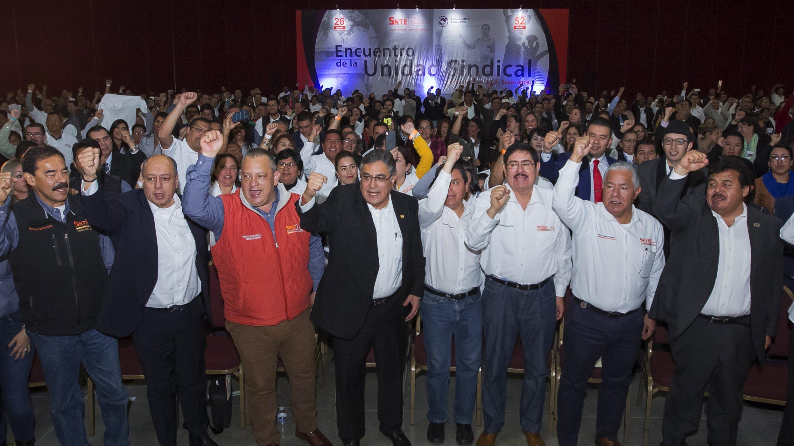 La nueva dirigencia del SNTE fortalece la unidad del Sindicato