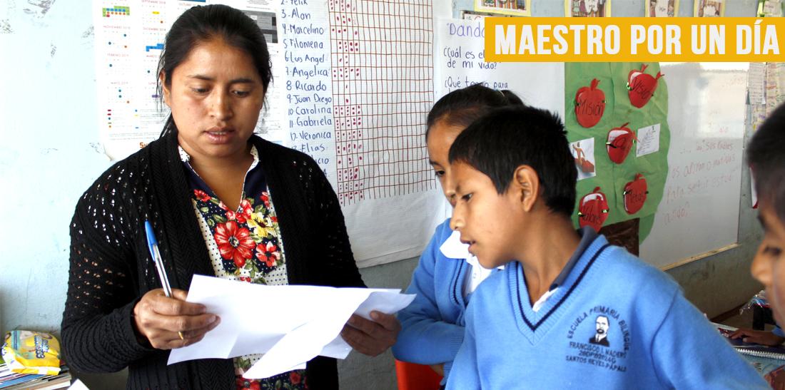 Promueve el SNTE revalorización del magisterio con el programa Maestro por un día