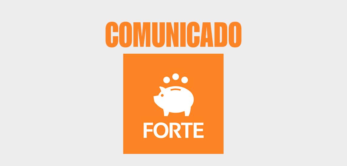 Comunicado FORTE