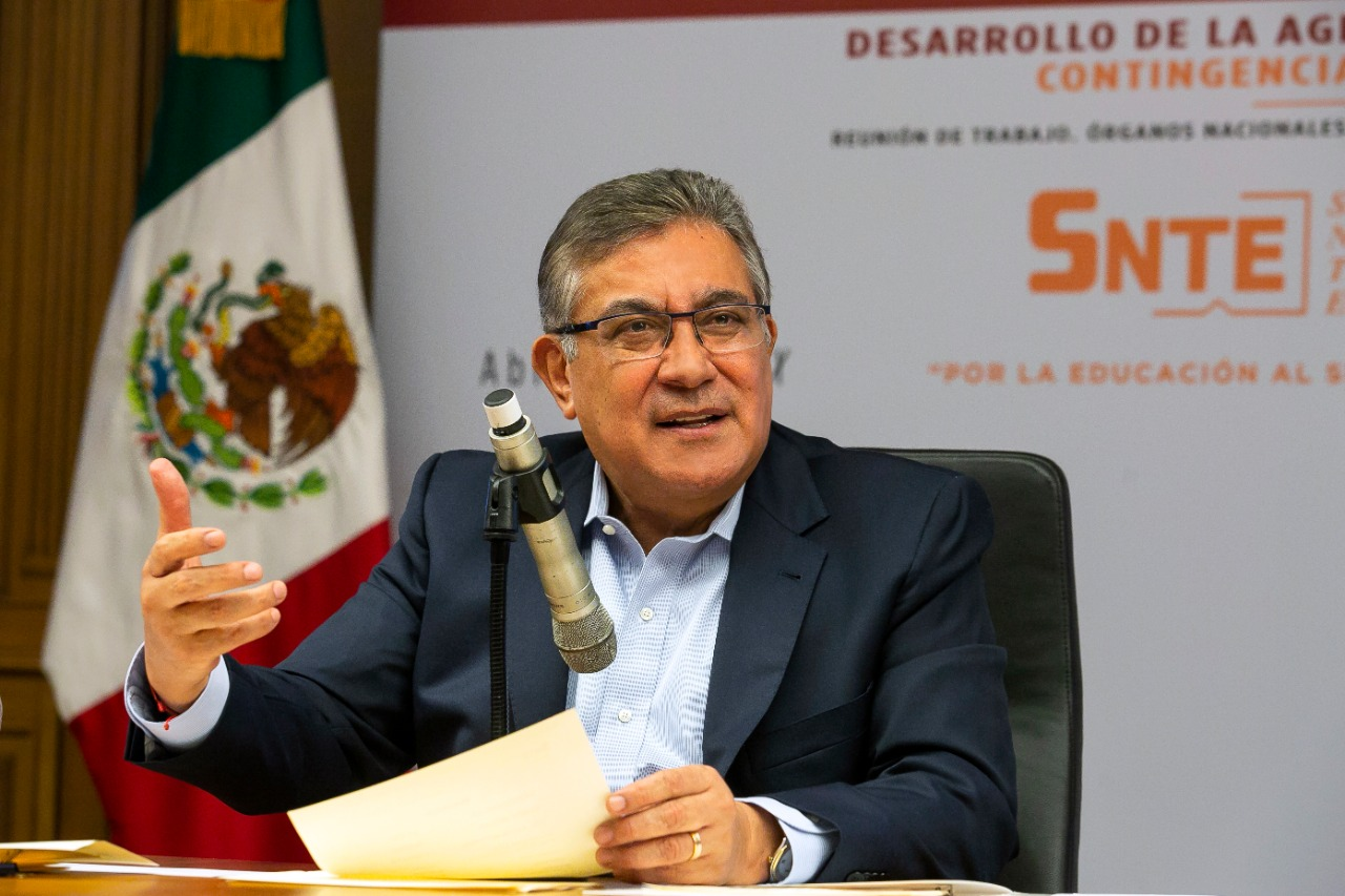 El SNTE responde a México ante la pandemia