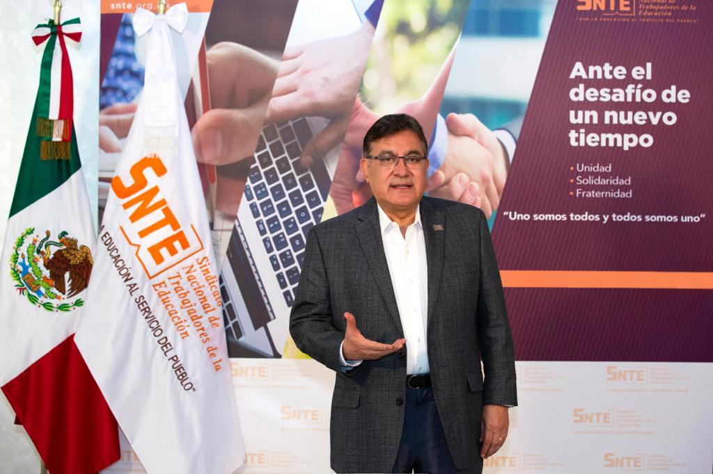 El SNTE continuará trabajando para un regreso seguro a las aulas