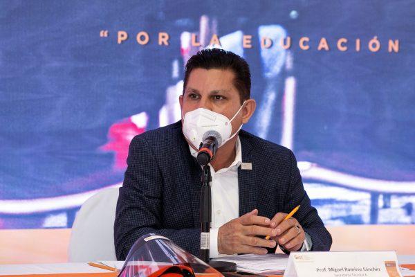 SNTE - REUNION DE TRABAJO CON SECRETARIOS GENERALES_-4