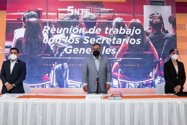 SNTE - REUNION DE TRABAJO CON SECRETARIOS GENERALES_-17