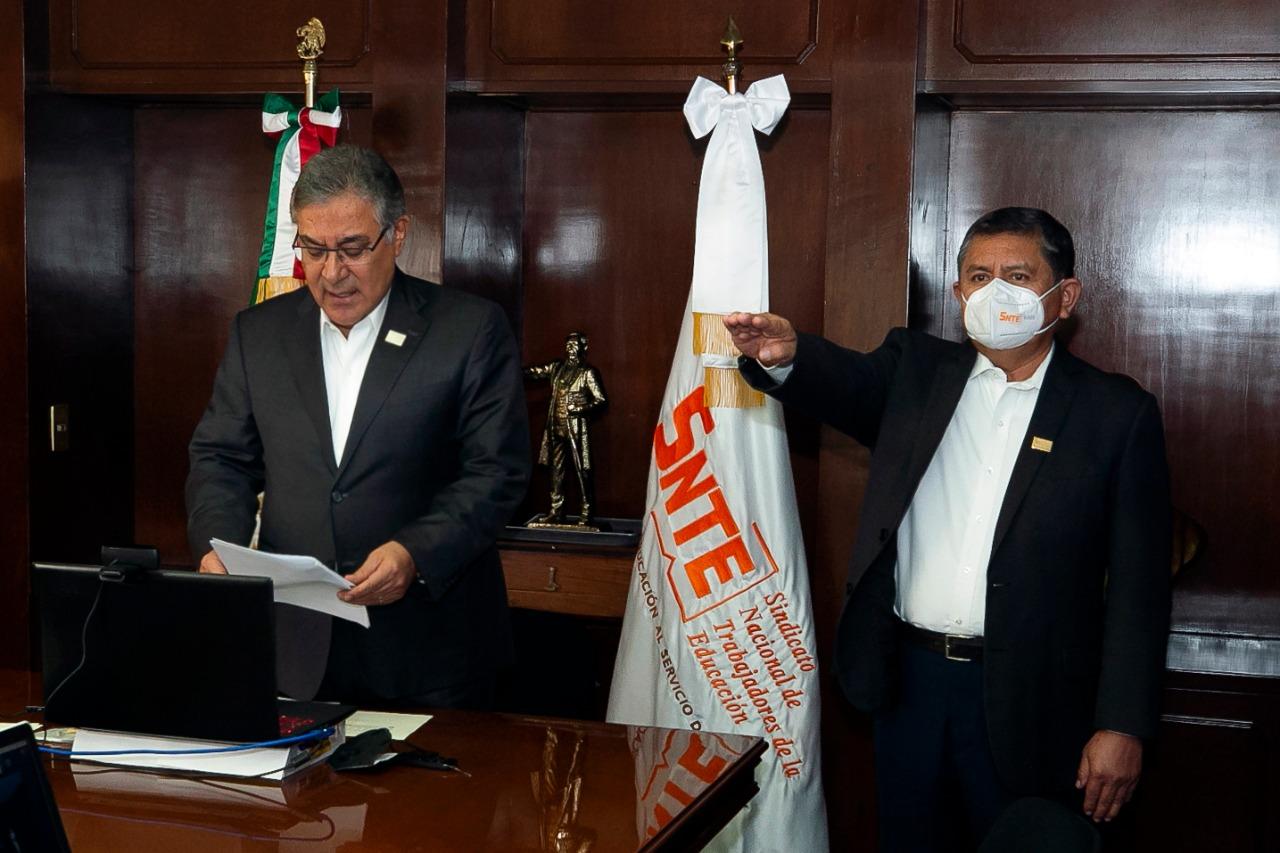 El SNTE renovará dirigencias seccionales hasta que se superen los riesgos sanitarios