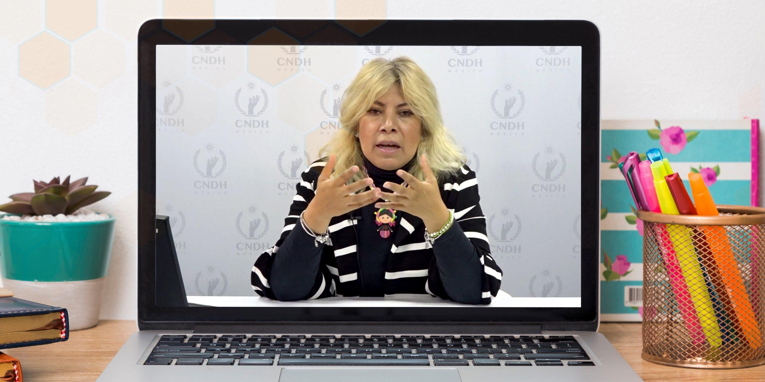 Videoconferencia SNTE – CNDH: Educación en y para los Derechos humanos