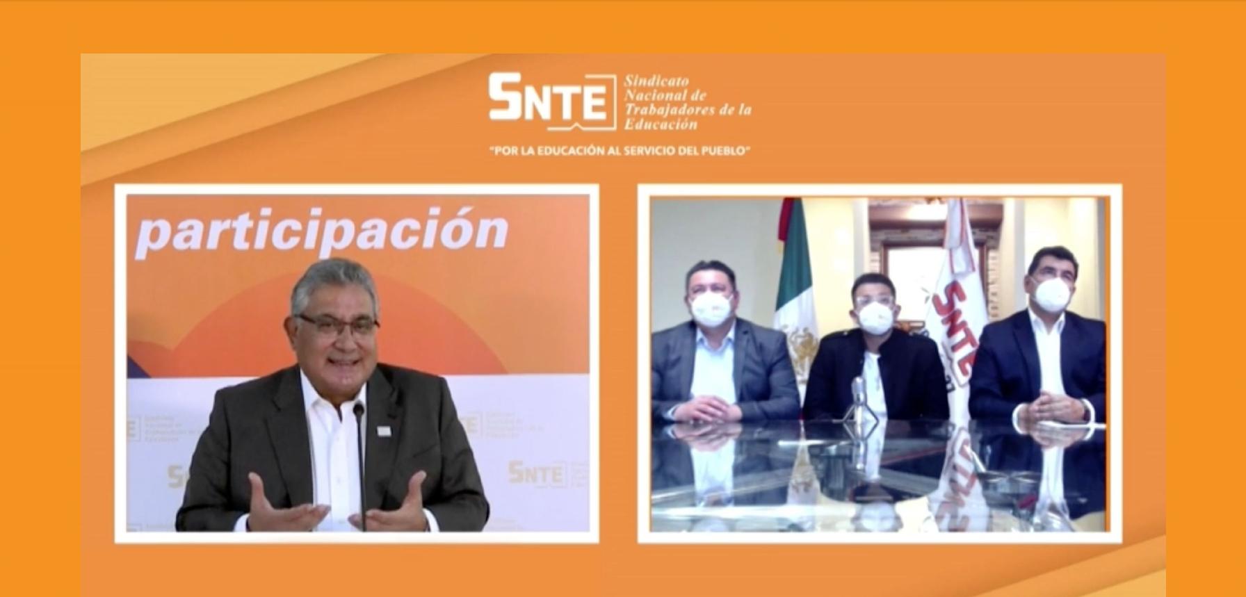 SNTE: Entrevista Julio Urías