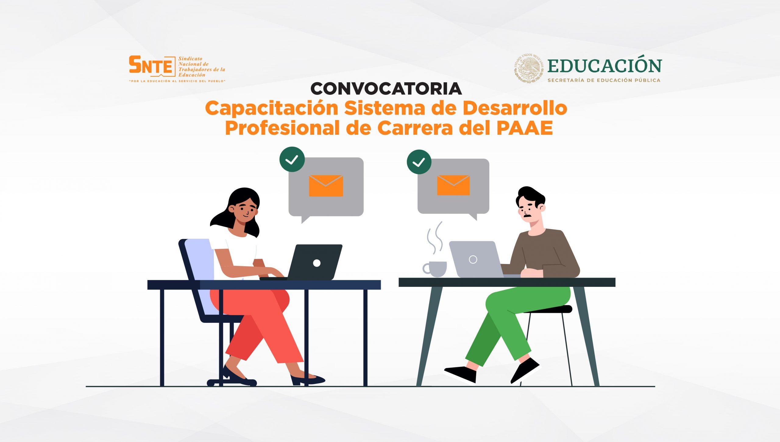Convocatoria Capacitación PAAE 2021