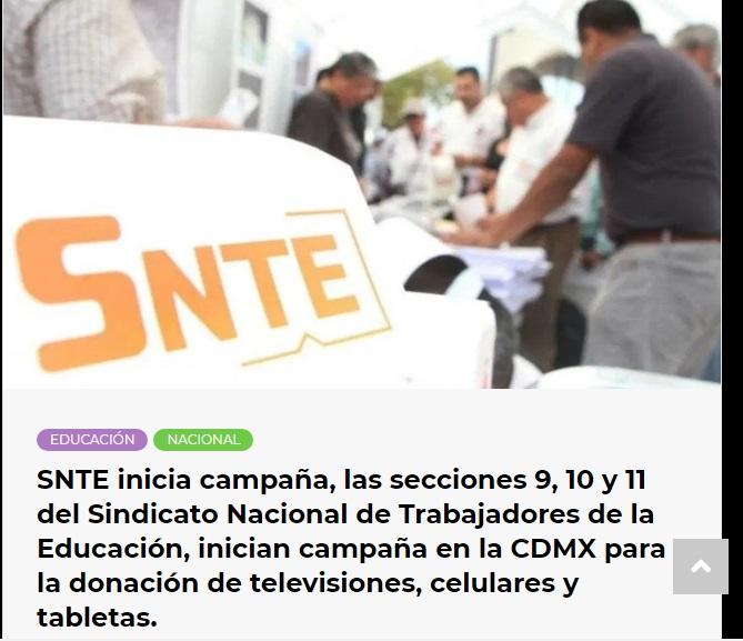 Inicia campaña en la CDMX para la donación de dispositivos electrónicos