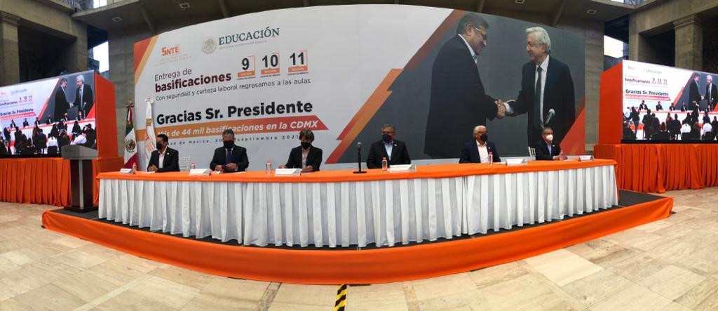 Entrega de más de 44 000 basificaciones en la Ciudad de México