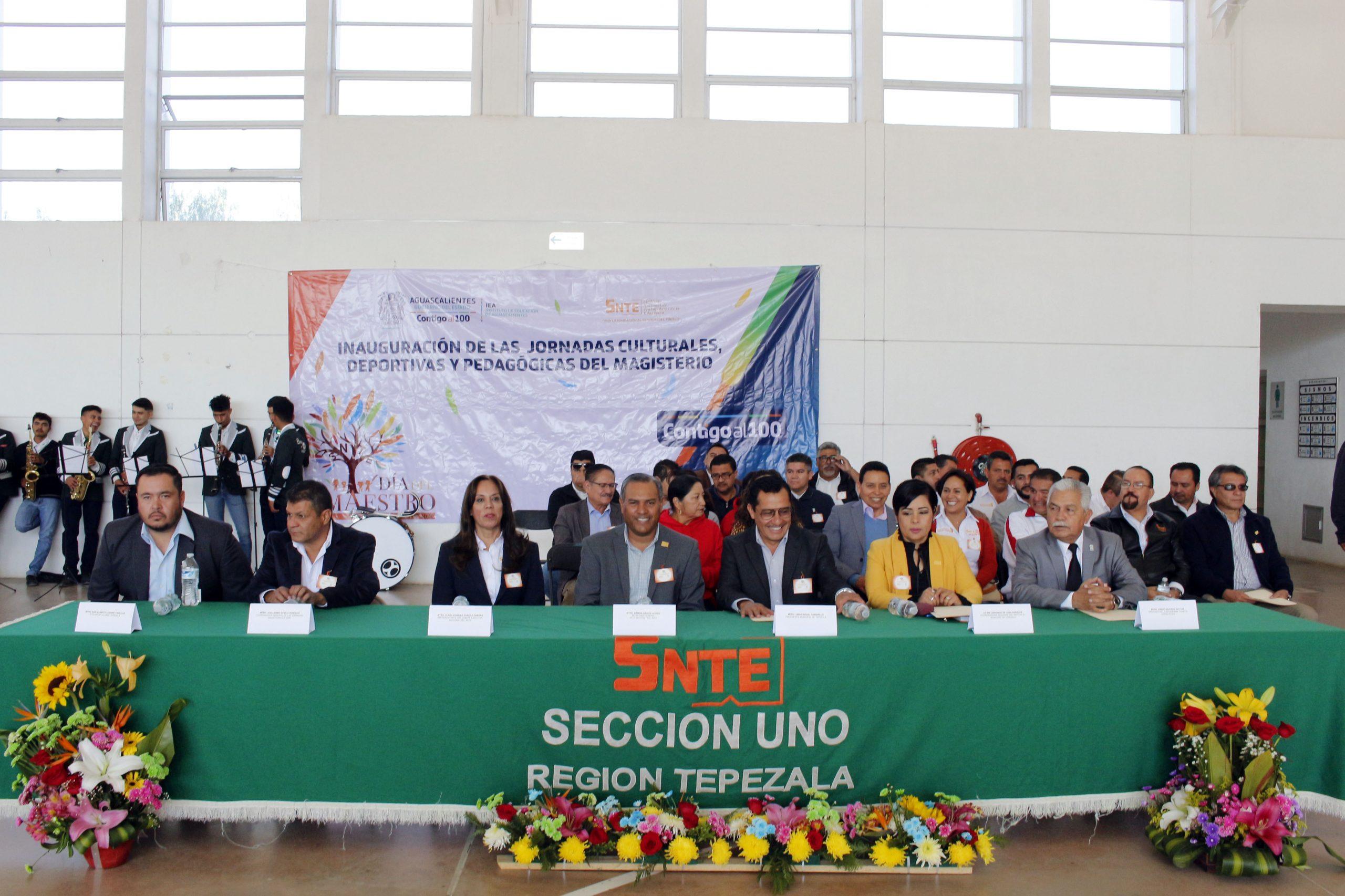 Jornadas Culturales, Deportivas y Pedagógicas en la Región IX, Tepezalá