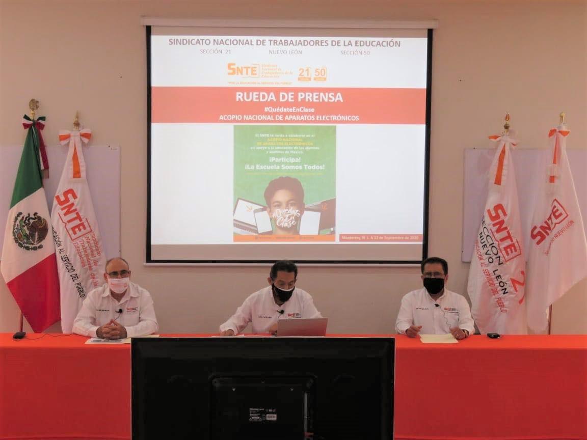 """SNTE dio inicio al Programa de """"Acopio Nacional de Aparatos Electrónicos"""""""