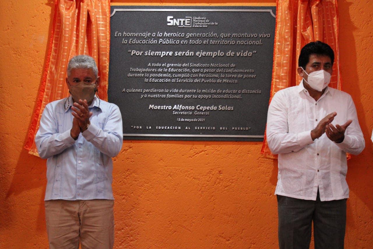 SNTE reconoce al Magisterio mexicano