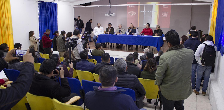 Rueda de Prensa sobre 2a Encuesta Nacional