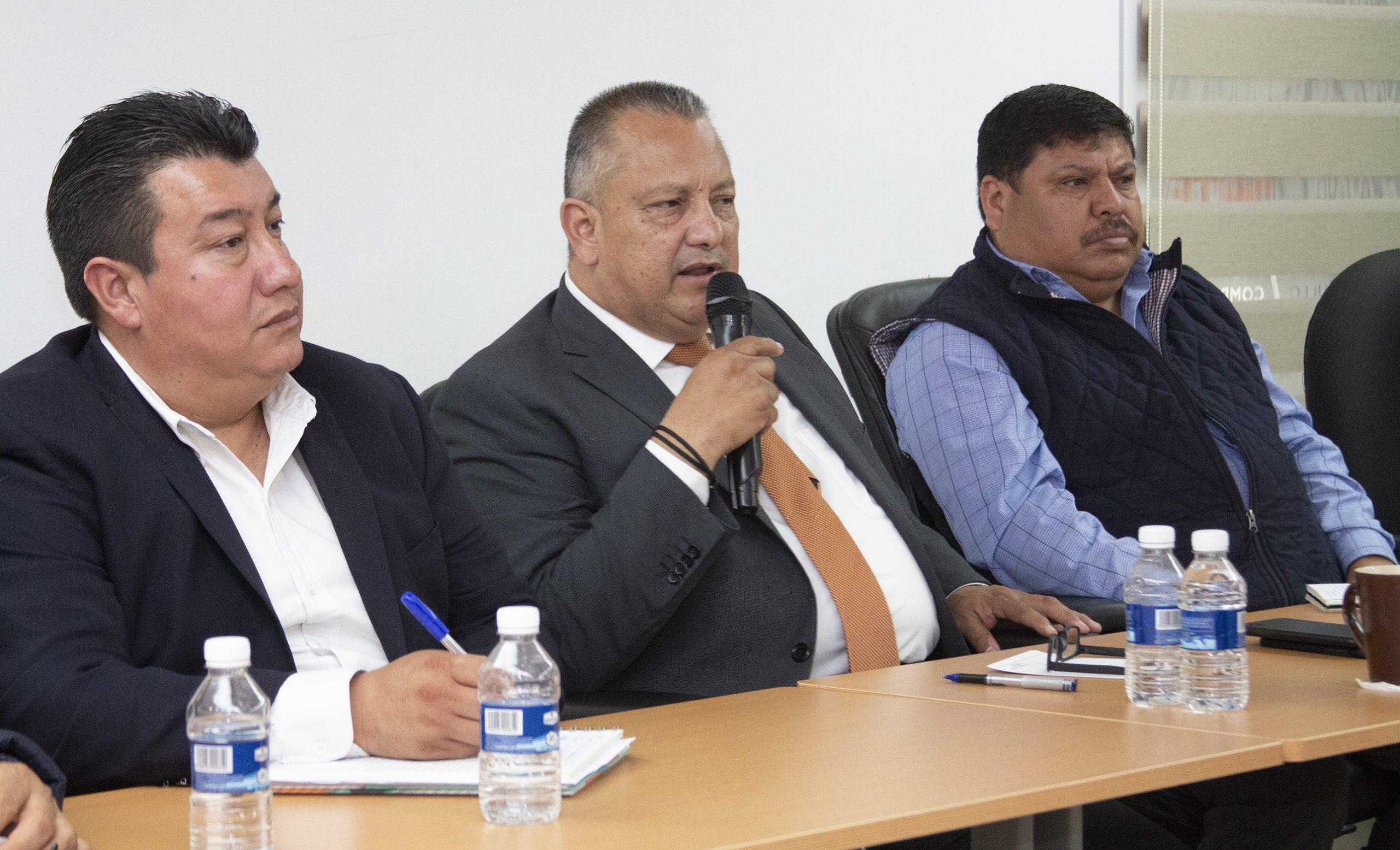 Reunión de trabajo con estructura sindical y oficial de Educación Indígena