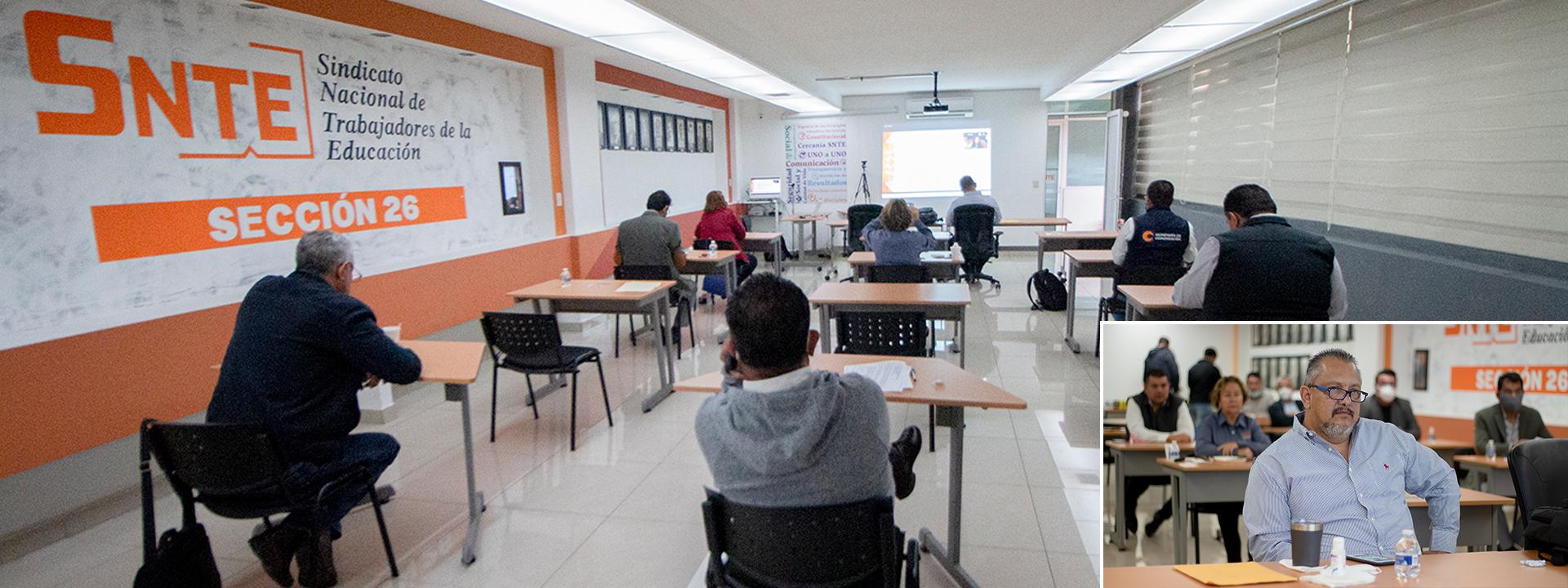 Participa Sección 26 en segunda sesión del ciclo de conferencias virtuales programado por el SNTE