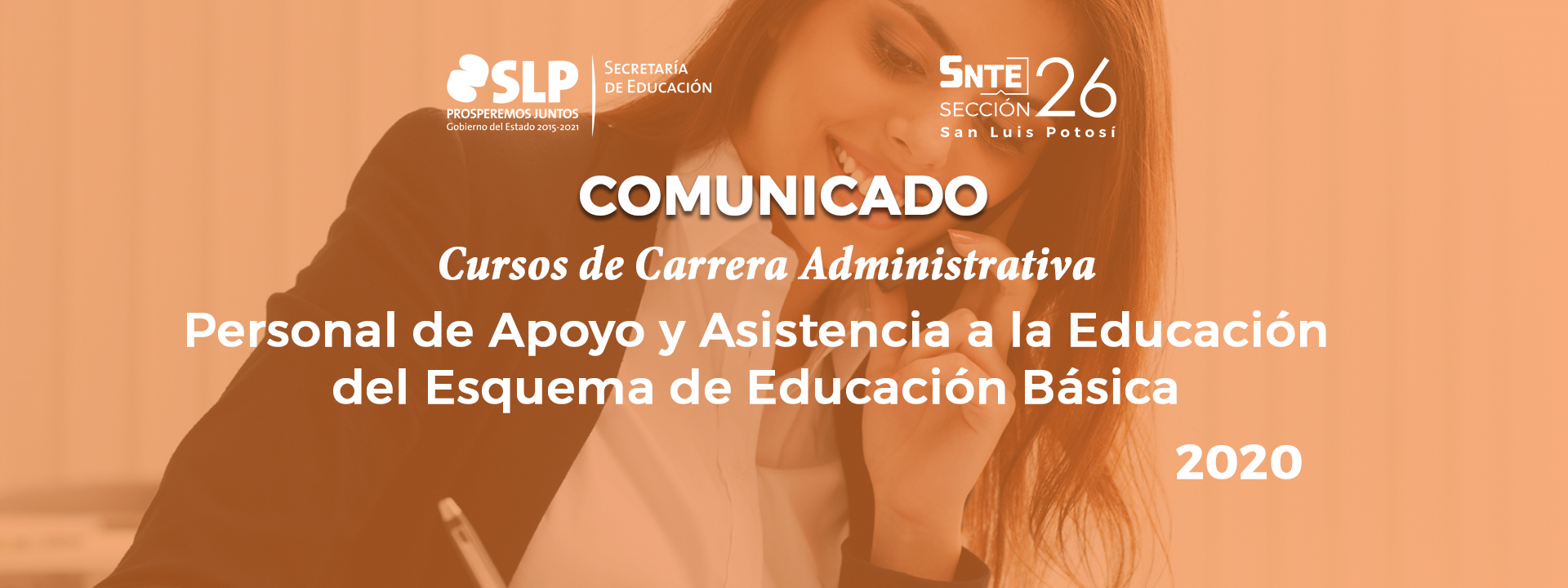 Comunicado: Cursos de Carrera Administrativa para PAAE