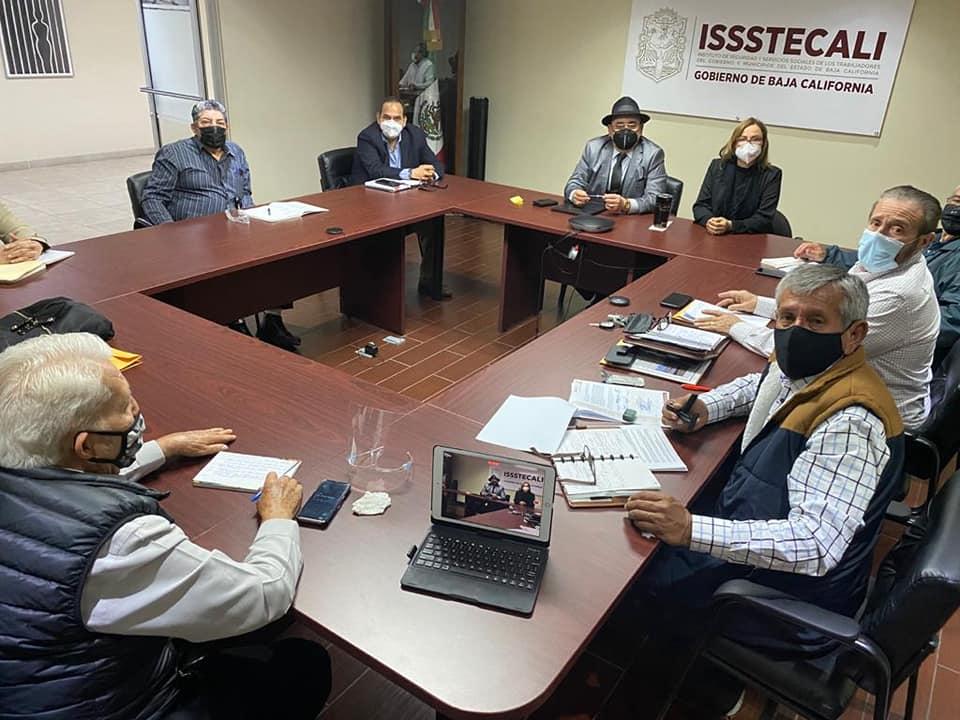 Reunión con ISSSTECALI