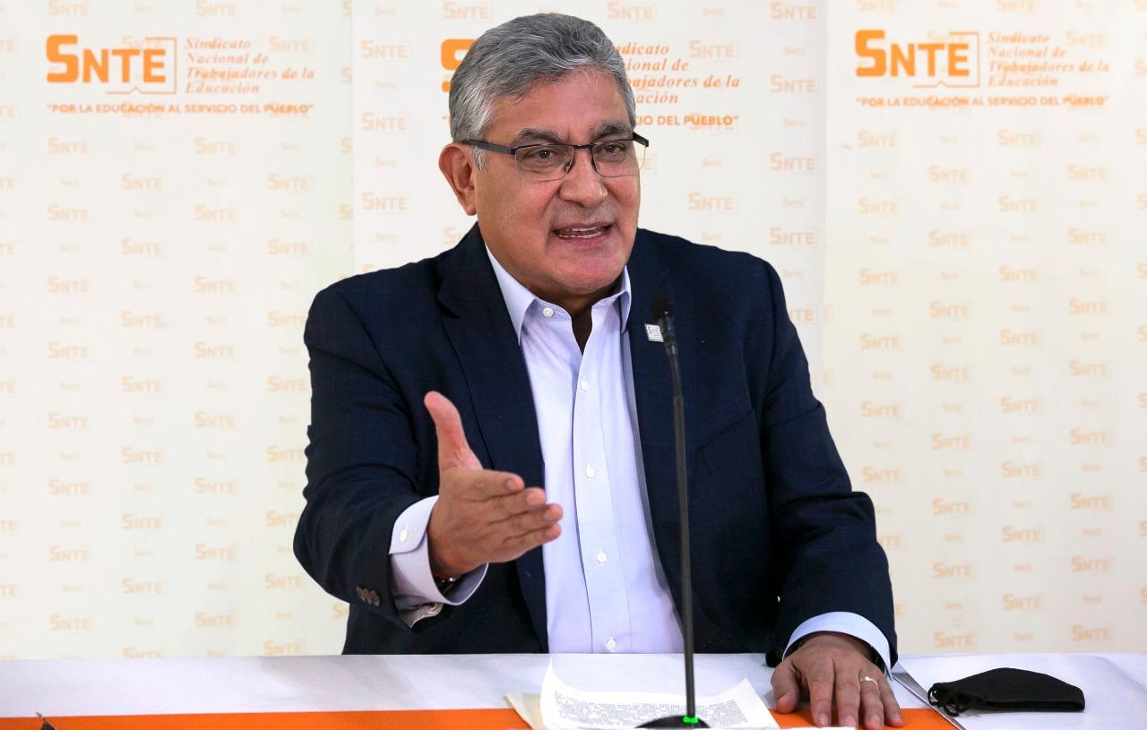 Se cumplen condiciones para reabrir escuelas en la Ciudad de México: SNTE