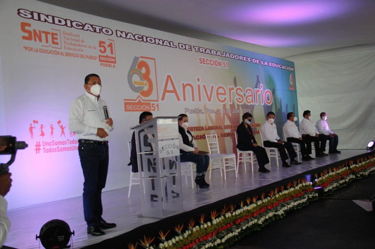 SNTE Sección 51 festejó su 63 Aniversario