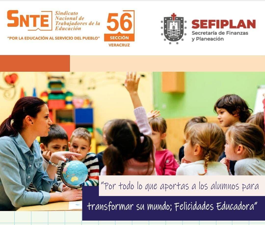 La Sección 56 del SNTE festeja a las Educadoras en su día