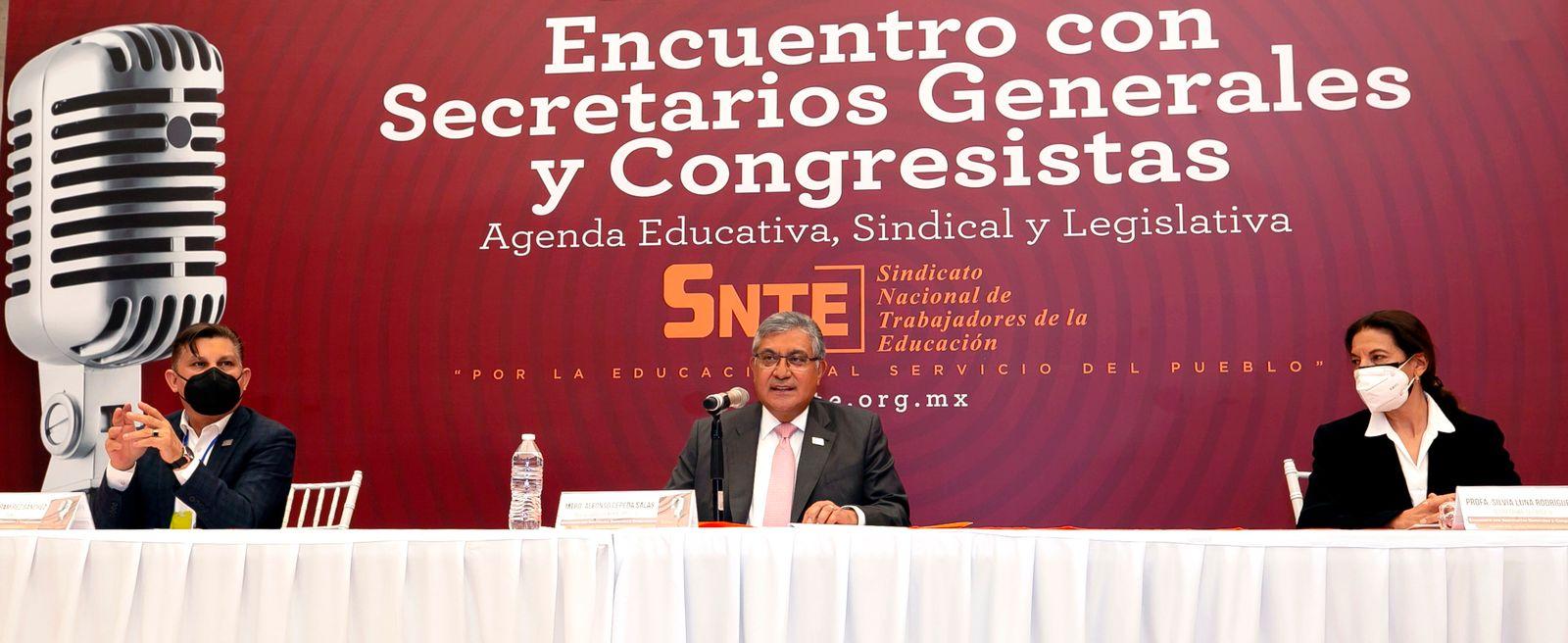 Integrantes del SNTE darán la lucha por la educación pública y los maestros, desde el Legislativo
