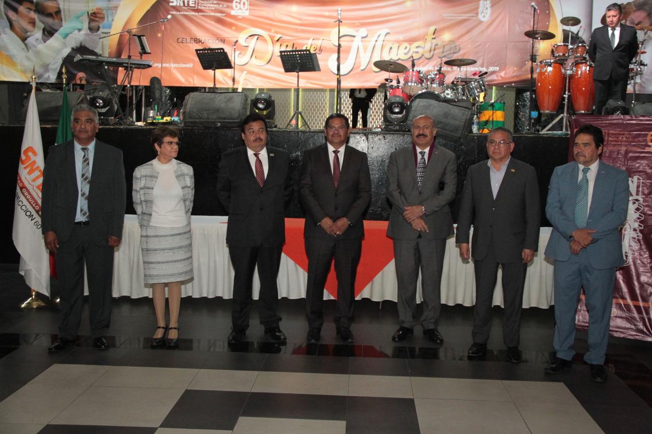 Celebración Día del Maestro Sección 60 del SNTE 2019