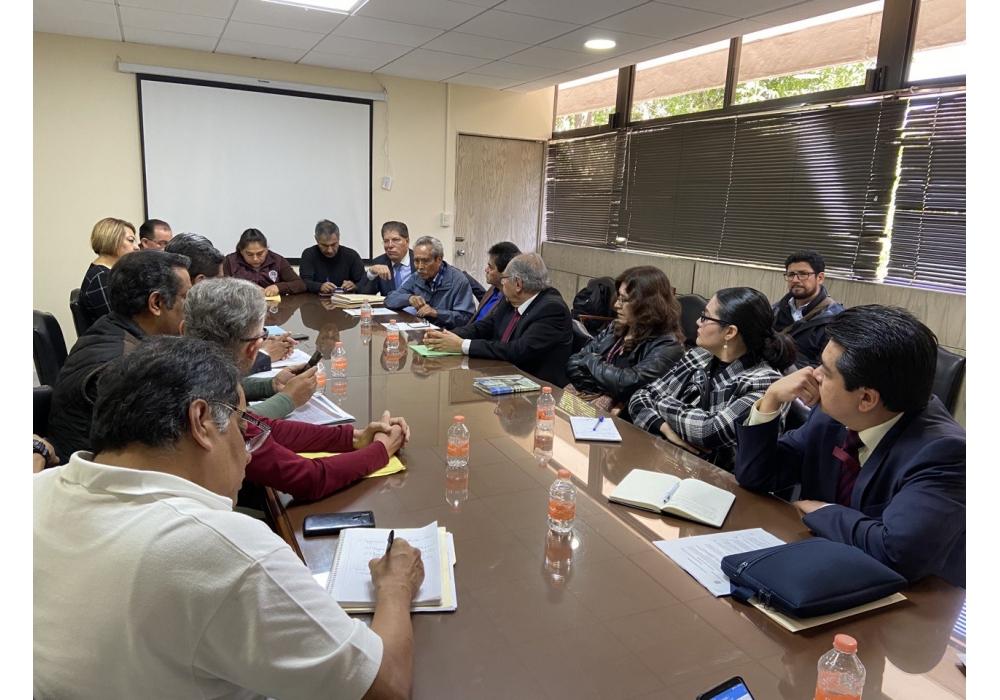 Reunión Secretario Académico y Sección 60