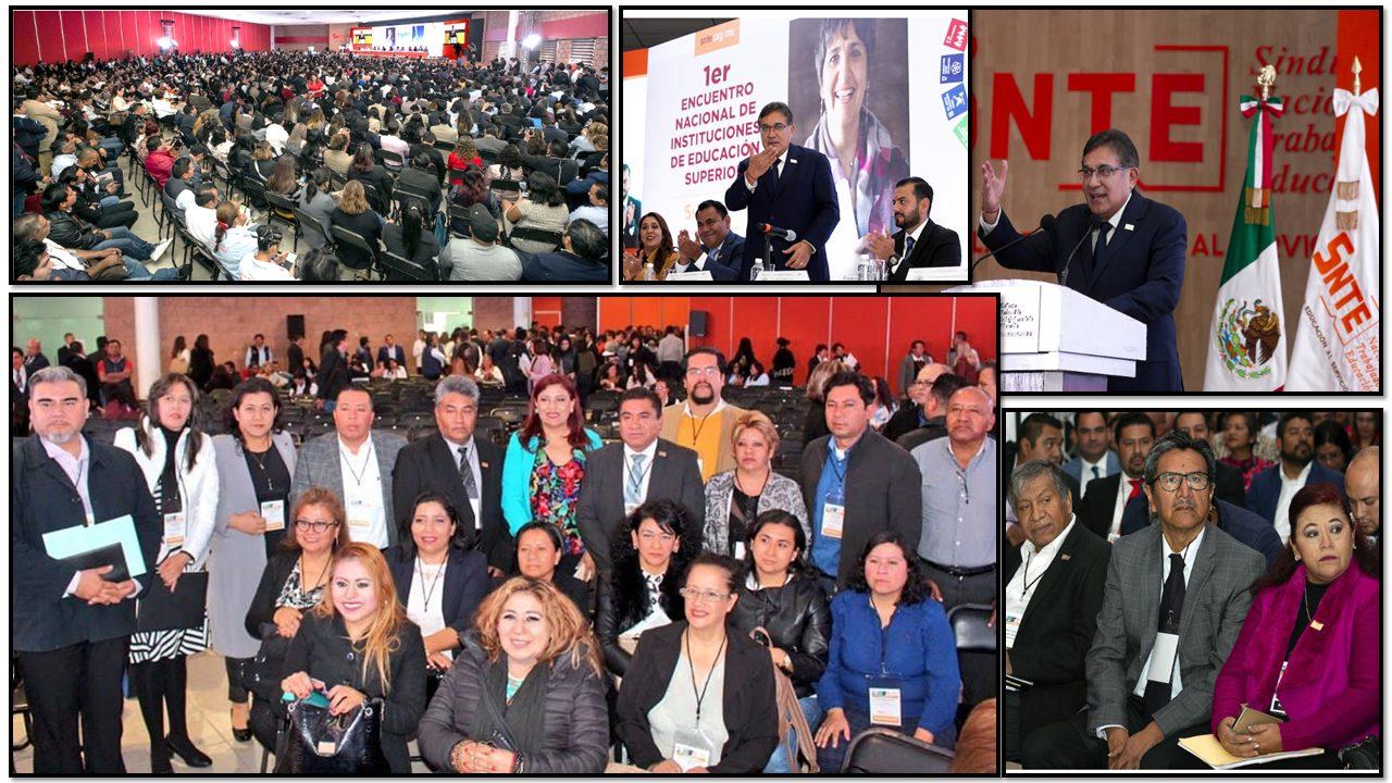 Sección 60, participa en el 1er. Encuentro Nacional de Instituciones de Educación Superior.