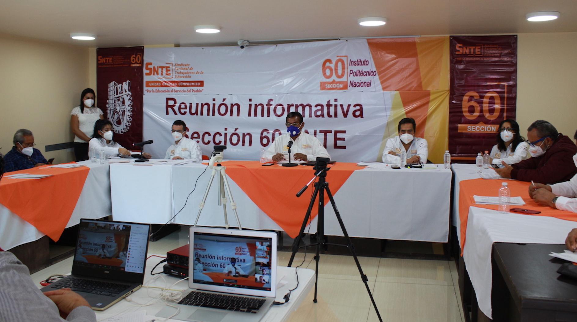 Reunión informativa Convocatorias 2020, Sección 60 del SNTE