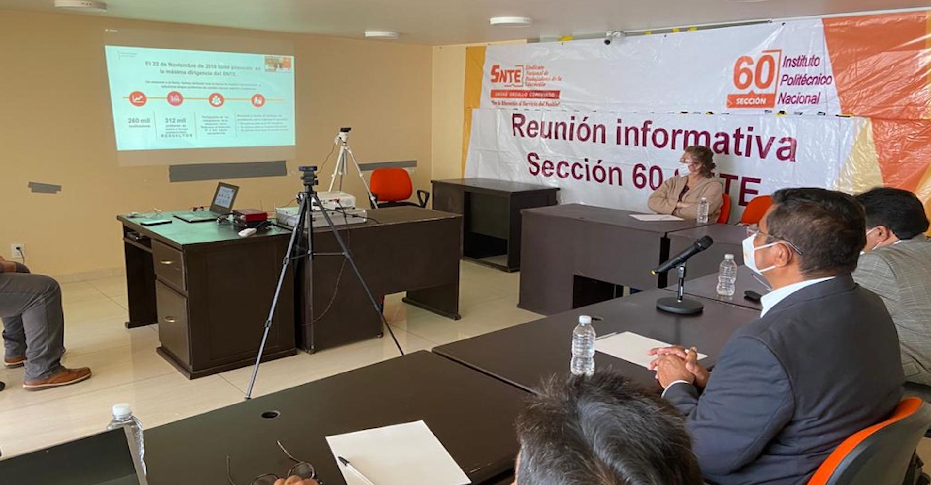 """Sección 60 presente en el Webinar """"Volver al Origen con Visión de Futuro""""."""
