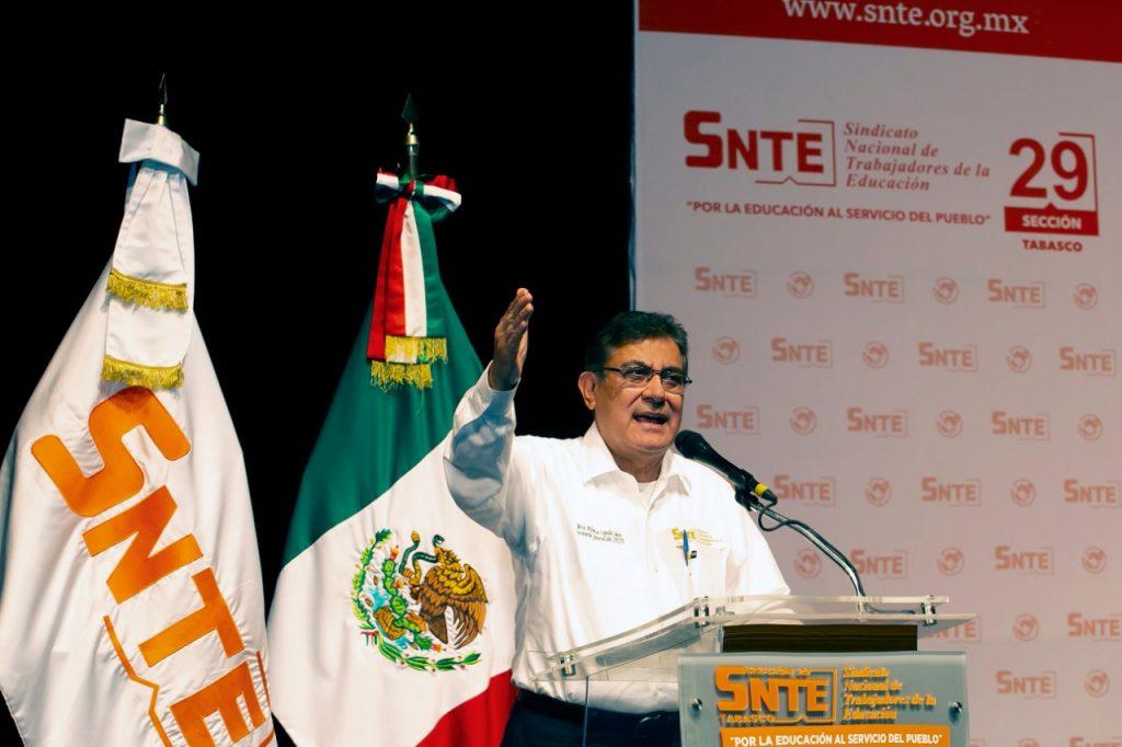 El SNTE se solidariza con Tabasco
