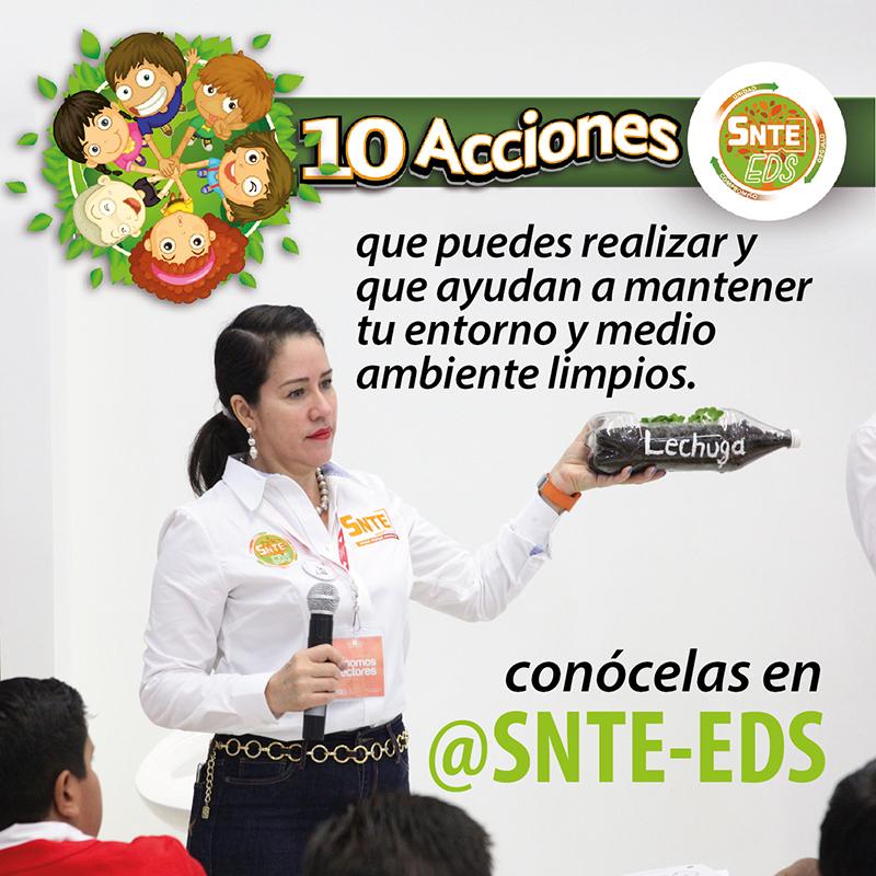 10 Acciones  – SNTE EDS