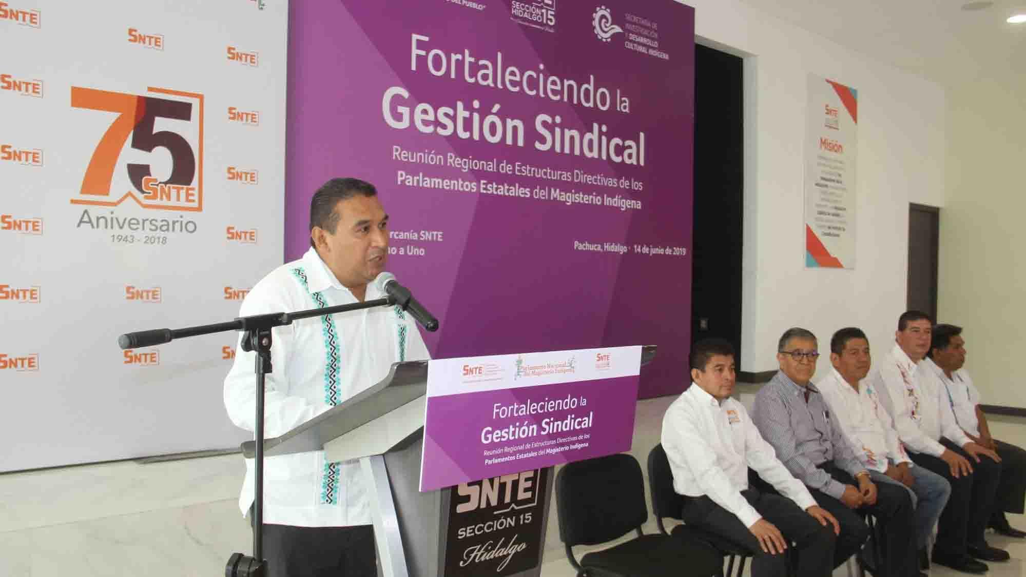 'Segunda Reunión Regional de Estructuras Directivas de los Parlamentos Estatales del Magisterio Indígena'