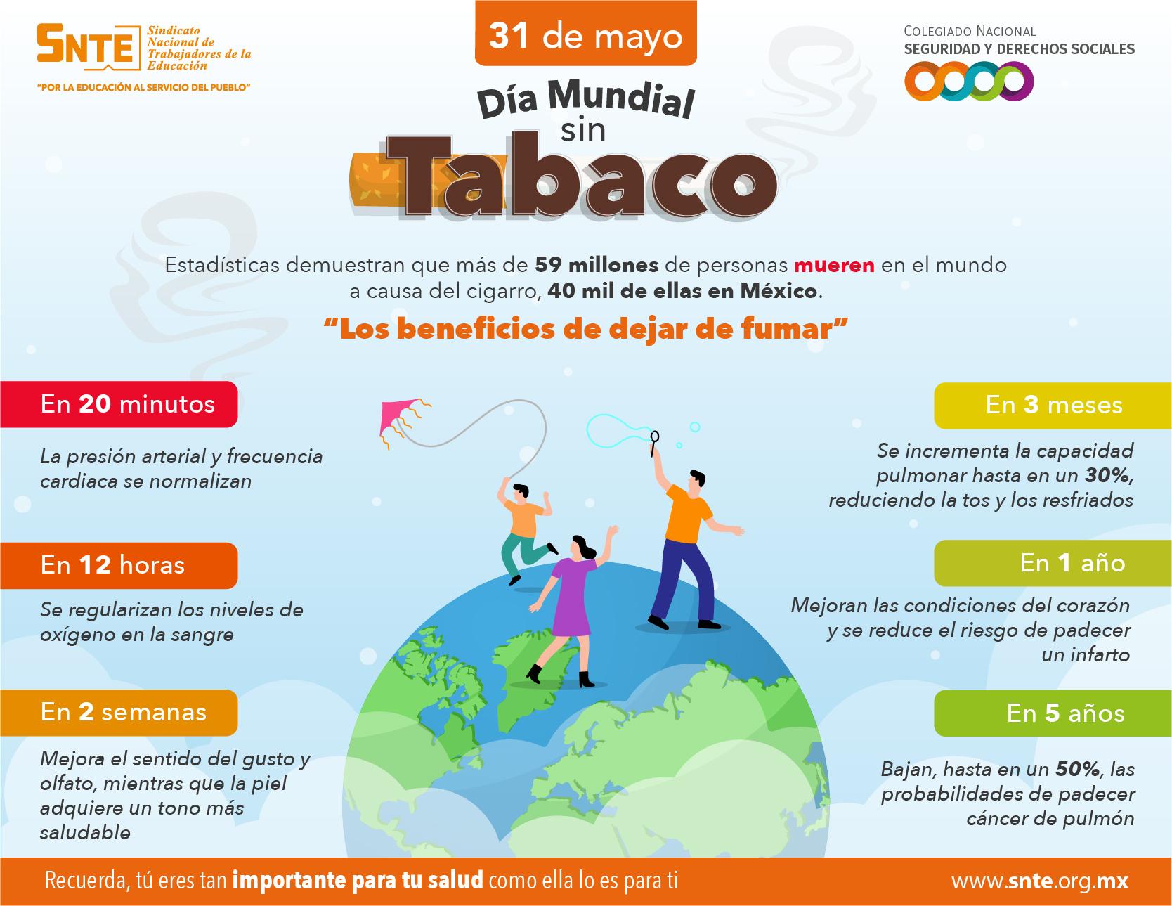 #DíaMundialSinTabaco